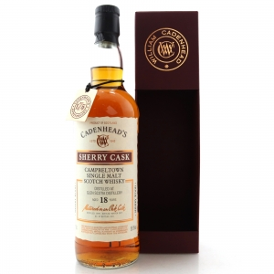 Glen Scotia 1999 Cadenhead's 18 Year Old / Sherry Cask