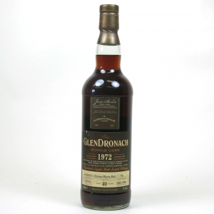 Glendronach 1972 Single Cask 40 Year Old