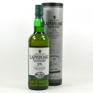 Laphroaig 18 Year Old Diamond Jubilee Front