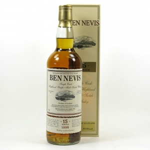 Ben Nevis 1996 Single Cask 15 Year Old Front