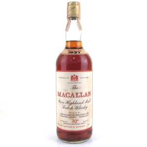 Macallan 1937 Gordon and MacPhail 1970s