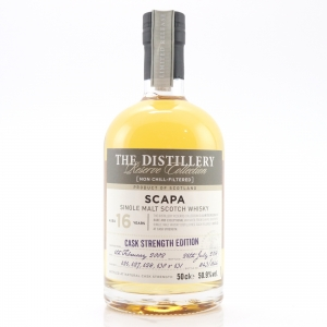 Scapa 2002 Reserve Collection 16 Year Old / Cask Strength Edition