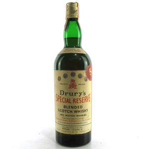 Drury's 5 Year Old Special Reserve 1960s