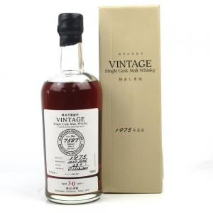 Karuizawa 1975 Single Cask 30 Year Old #7587 / Distillery Exclusive