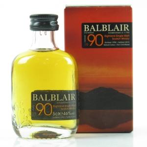 Balblair 1990 2nd Release 5cl