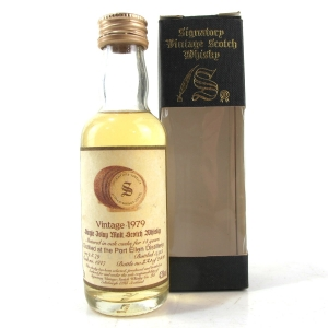 Port Ellen 1979 Signatory Vintage 14 Year Old Miniature 5cl