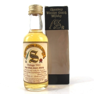 Dumbarton 1961 Signatory Vintage 32 Year Old 5cl Miniature
