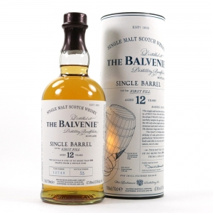 Balvenie Single Barrel 12 Year Old front
