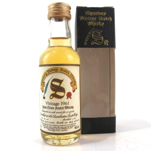 Dumbarton 1961 Signatory Vintage 29 Year Old 5cl Miniature