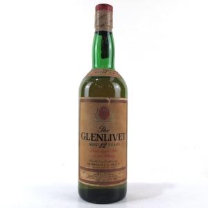 Glenlivet 12 Year Old 1980s / Italian Import