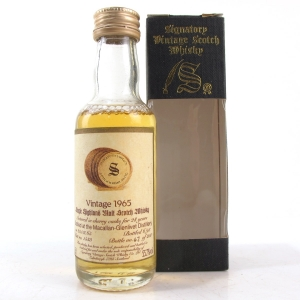Macallan 1965 Signatory Vintage 28 Year Old 5cl Miniature