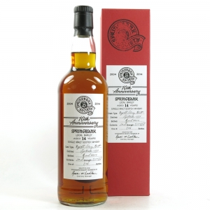 Springbank 1999 Sherry Butt 14 Year Old