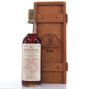 Macallan 1958 Anniversary Malt 25 Year Old