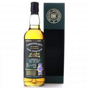Glen Scotia 1992 Cadenhead's 27 Year Old