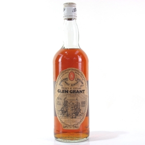 Glen Grant 8 Year Old 100 Proof 1970s