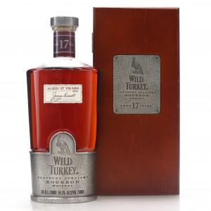 Wild Turkey 17 Year Old 101 Proof Kentucky Straight Bourbon / Japanese Exclusive