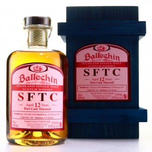 Ballechin 2004 Straight from the Cask 12 Year Old 50cl / Port Cask