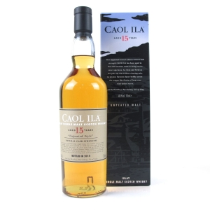 Caol Ila 1998 Unpeated 15 Year Old 2014 Release