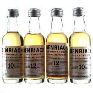 Benriach Miniatures x 4