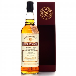 Glen Scotia 1999 Cadenhead's 18 Year Old Sherry Cask