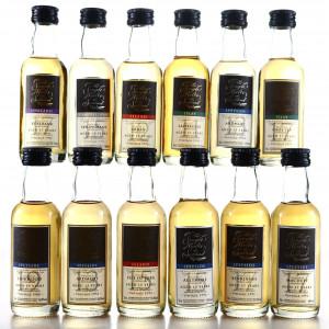 The Single Malts of Scotland Speciality Drinks Miniatures x 12