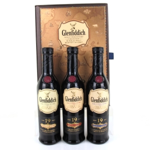 Glenfiddich Age of Discovery Gift Pack 3 x 20cl