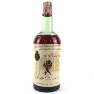 Fundador Pedro Domecq Brandy 2 Litre 1960s