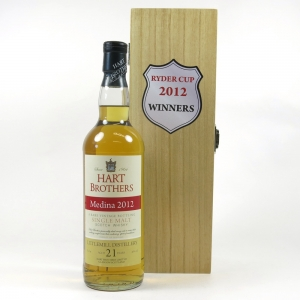 Littlemill 21 year Old Hart Brothers / Ryder Cup 2012