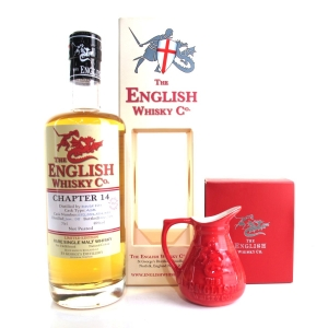 English Whisky Co 6 Year Old Chapter #14 Un-Peated / includes Jug