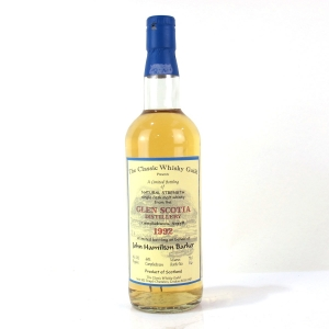 Glen Scotia 1992 The Classic Whisky Guild / John Hamilton Barker