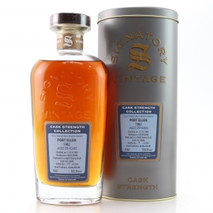 Port Ellen 1982 Signatory Vintage 25 Year Old Cask Strength