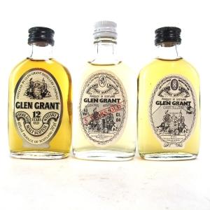 Glen Grant Selection 3 x Miniature