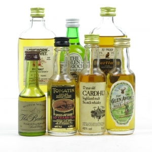 Speyside 1970/80 Miniature Selection 6 x 5cl and Glen Garioch 5cl 1970s