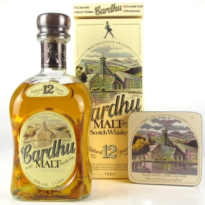 Cardhu 12 Year Old 1 Litre / includes Coasters x 4