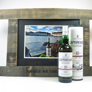 Smoke on the Water Framed Photograph including Laphroaig Cask Strength