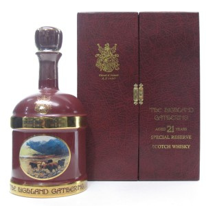 The Highland Gathering 21 Year Old Decanter