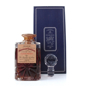 Macallan 1937 Gordon and MacPhail Crystal Decanter