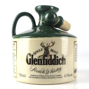 Glenfiddich Robert the Bruce Stoneware Decanter 1980s
