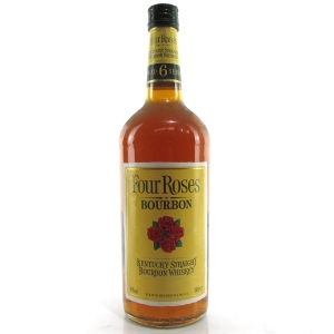 Four Roses 6 Year Old Kentucky Straight Bourbon 1 Litre 1990s