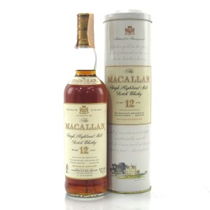 Macallan 12 Year Old 1990s / Giovinetti Import