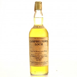 Campbeltown Loch Scotch Whisky 1960s