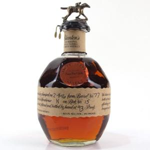 Blanton's Single Barrel Dumped 2016 / Mission Wine & Spirits