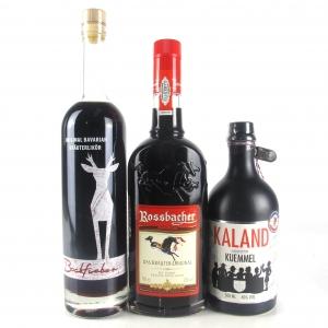 Miscellaneous German Herbal Liqueur x 3
