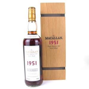 Macallan 1951 Fine and Rare