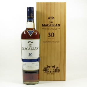Macallan 30 Year Old Sherry Oak Front