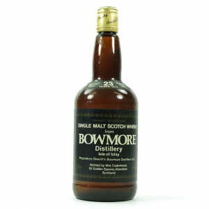 Bowmore 1964 Cadenhead's 23 Year Old Front