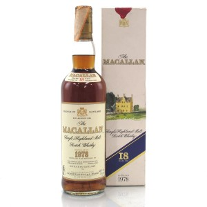 Macallan 18 Year Old 1978 / Giovinetti Import