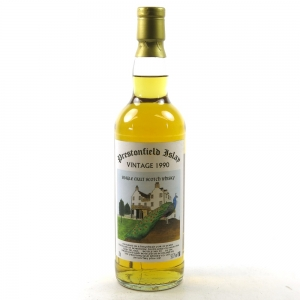 Bowmore 1990 Prestonfield 20 Year Old Front