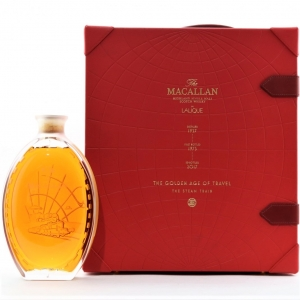 Macallan 1937 Lalique Golden Age of Travel 36 Year Old / The Steam Train
