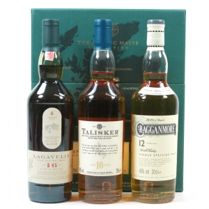 Classic Malt Gift Pack : Heavy Malts - Cragganmore / Talisker / Lagavulin 3 x 20cl